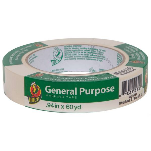 Beige General Purpose Masking Tape