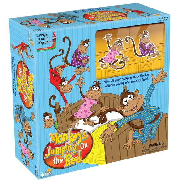 Five Little Monkeys Jumping on Bed Game