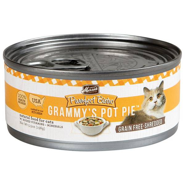 5.5 oz Purrfect Bistro Grammy's Pot Pie Wet Cat Food