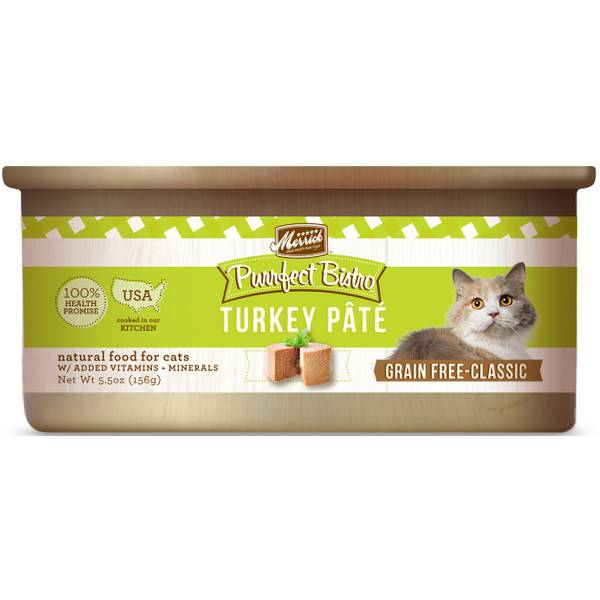 5.5 oz Purrfect Bistro Turkey Cat Food