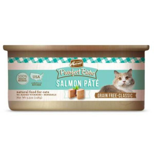 5.5 oz Purrfect Bistro Salmon Cat Food