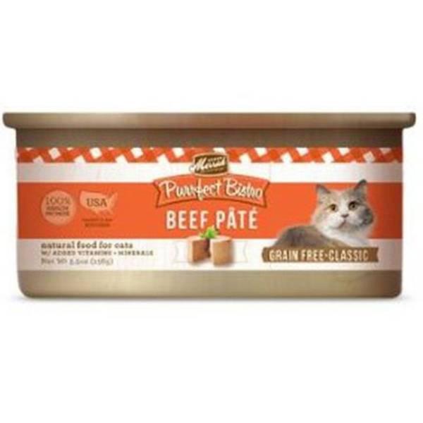 5.5 oz Purrfect Bistro Beef Cat Food