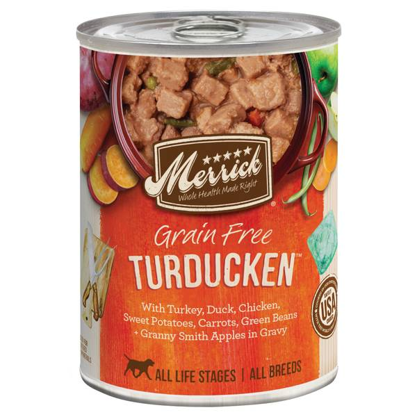 13.2 oz Grain Free All Life Stages Turducken Dog Food