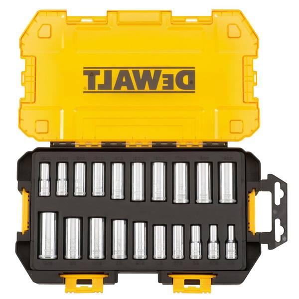 "3/8"" Deep Drive Socket Set Tough Box Tool Kit"