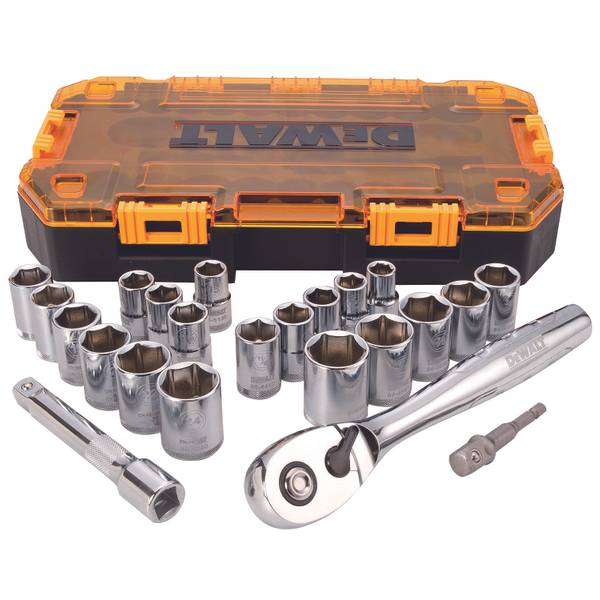 "1/2"" Drive Socket Set Tough Box Tool Kit"