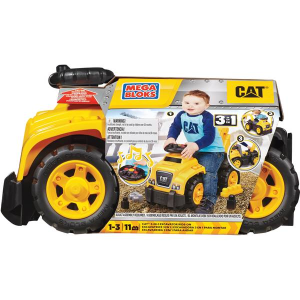 CAT 3-in-1 Ride-On Toy