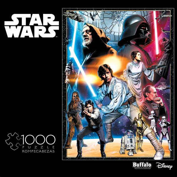 1000-Piece Star Wars Photomosaic Puzzle Assortment