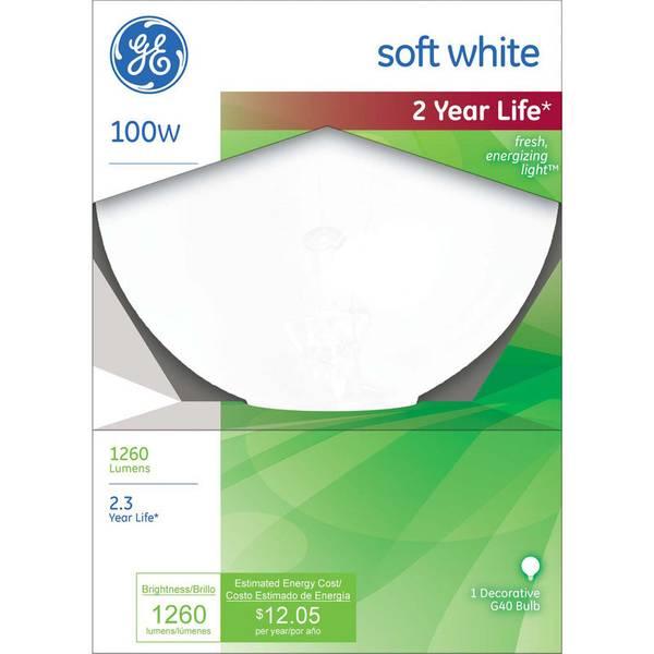 100W G40 Soft White Bulb