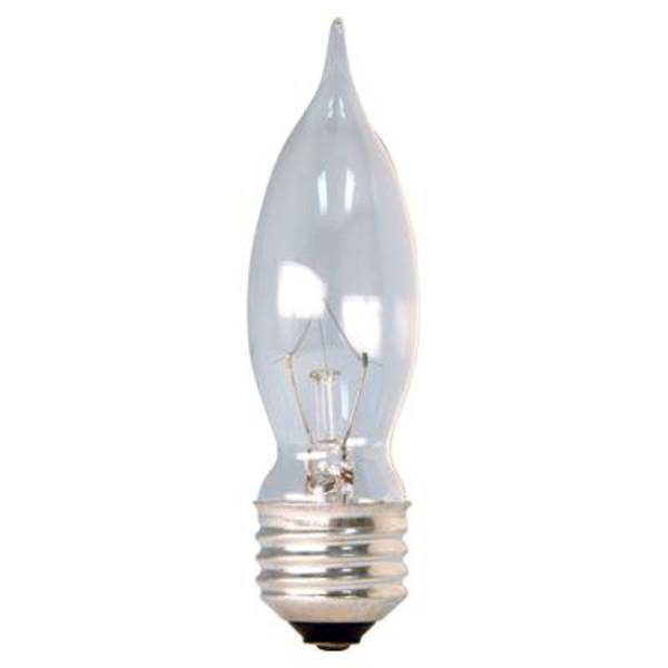 2 Pack 43 Watts Crystal Clear Halogen Bulb