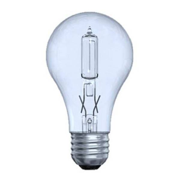 2 Pack 43W Energy-Efficient Reveal Clear Bulbs