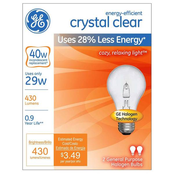 2pk 29W Energy-Efficient Crystal Clear
