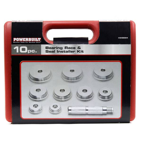 Bearing Race and Seal Installer Set