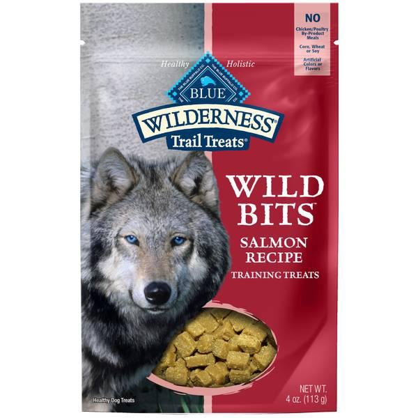 Trail Treats Salmon Wild Bits Dog Training Treats