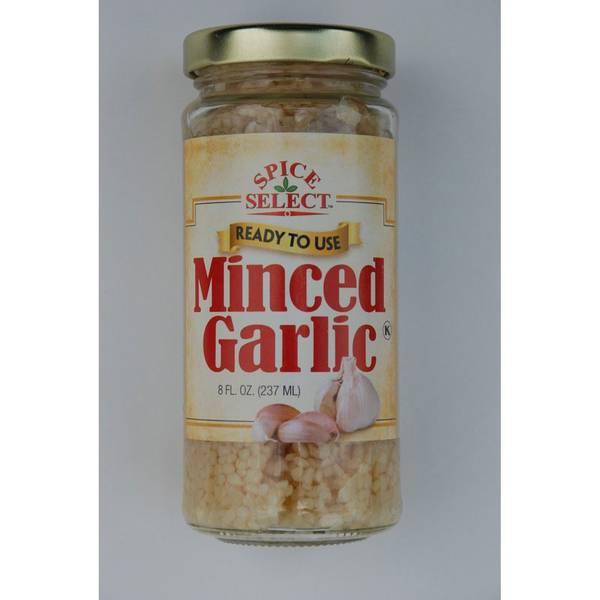 Spice Select Minced Garlic Jar
