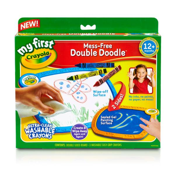 Mess-Free Double Doodle Washable Crayons