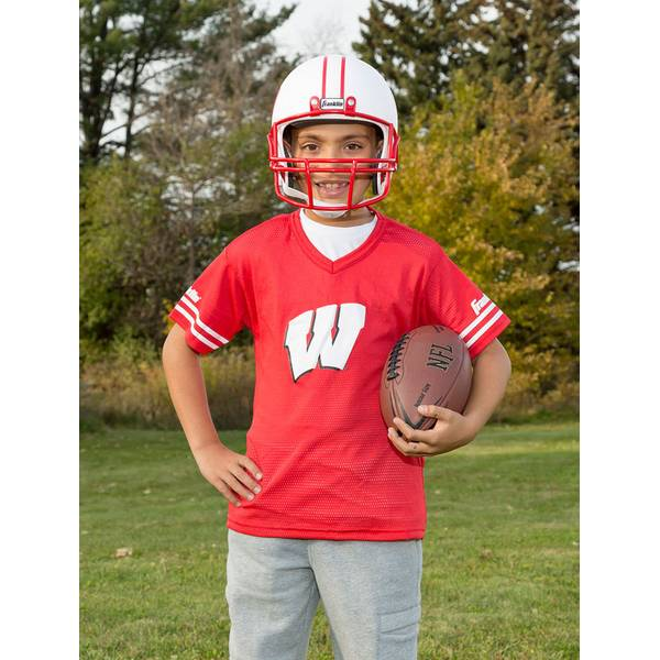University of Wisconsin Helmet & Jersey Set