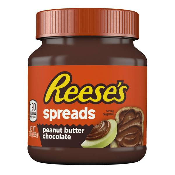13 Ounces Reeses Chocolate Peanut Butter Spread