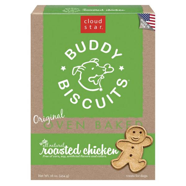 Oven Baked Buddy Biscuits Dog Treats