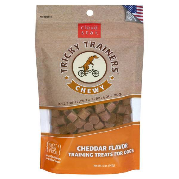 Tricky Trainers Chewy Dog Cheddar Training Treats