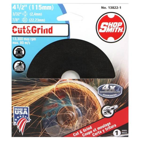 """4-1/2"""" Cut & Grind Wheel"""