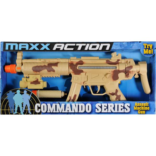 Commando Series Tactical Toy Machine Gun