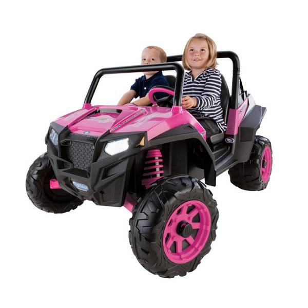 Pink Polaris RZR 900 Vehicle