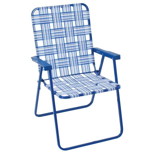 Blue Step Up Web Chair