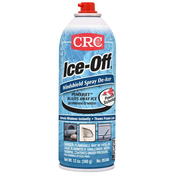 Ice-Off Windshield Spray De-Icer