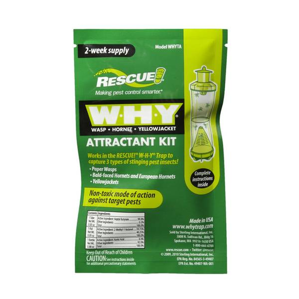 W.H.Y. Wasp Trap Attractant Refill Kit