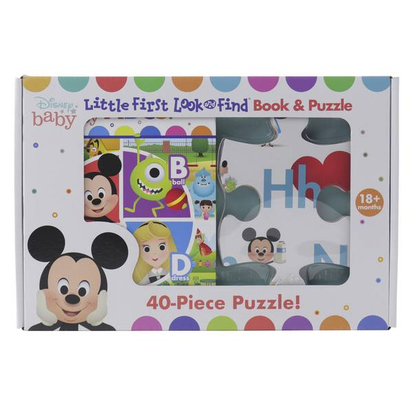 Look and Find Book and Puzzle Set Assortment