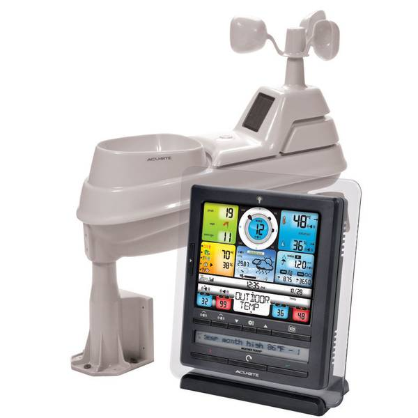5 - in - 1 Color Weather Station