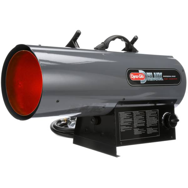 Delux Propane Forced Air Heater