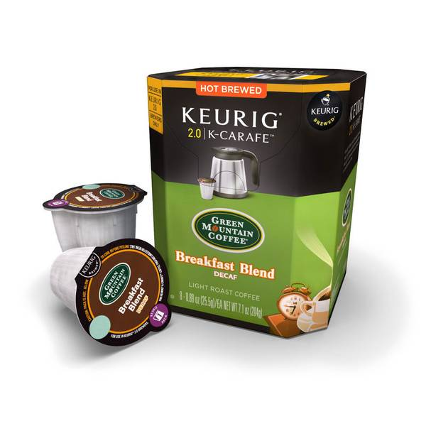 Breakfast Blend Decaf - K-Carafe Pack