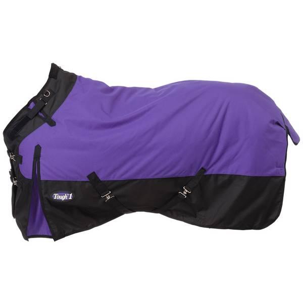 Purple 1200D Turnout Blanket