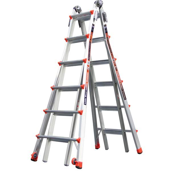 26' Type 1A Aluminum Revolution M26 Ladder