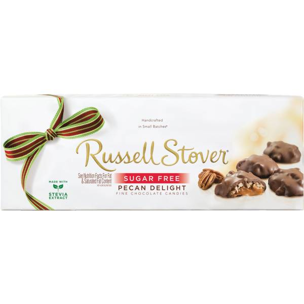 Russell Stover 10 Ounce Sugar-Free Pecan Delights