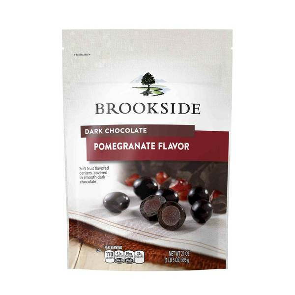 Dark Chocolate Pomegranate & Fruit Flavors