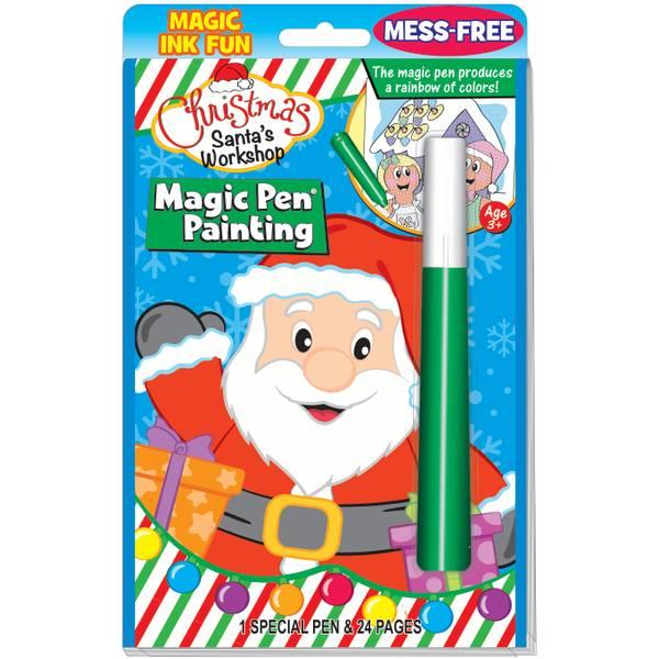 Santa's Christmas Magic Pen Book