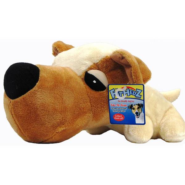 FatHedz Goldy Dog Toy