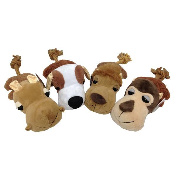 Ultra Fat Headz Dog Toy Assortment