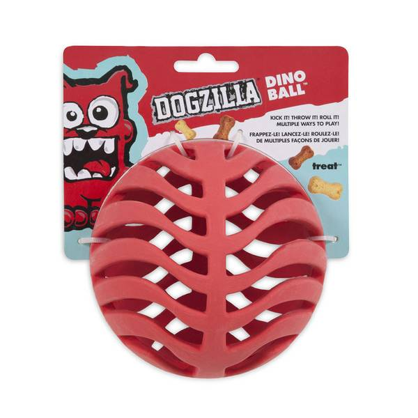 Dogzilla Dino Ball Dog Toy