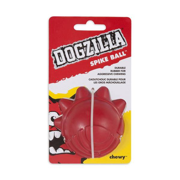 Spike Ball Rubber Dog Toy