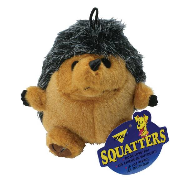 Squatter Hedgehog Dog Toy
