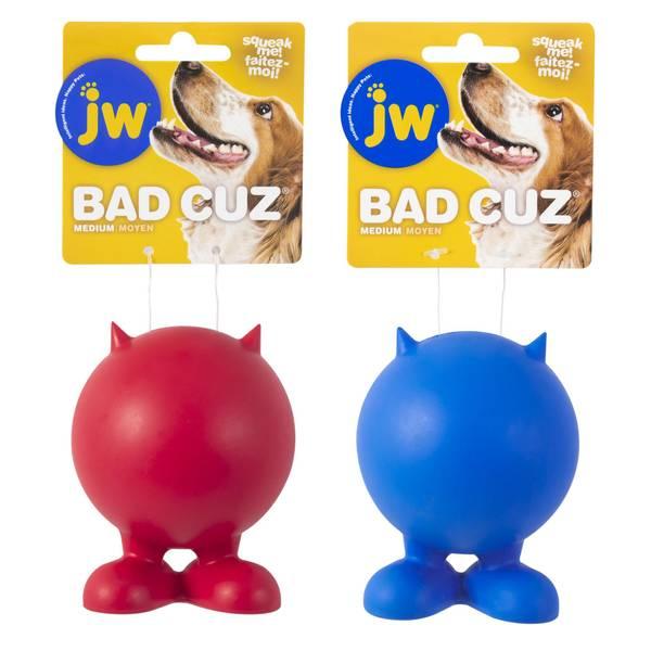 JW Bad Cuz Medium Dog Toy