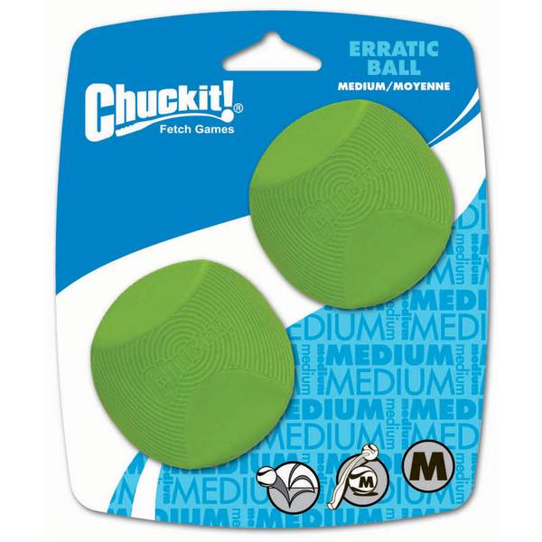 Medium Erratic Ball 2 Pack