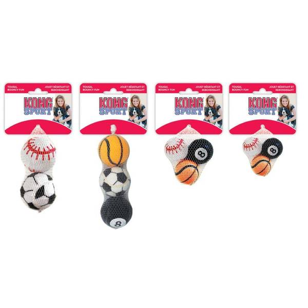 Sport Balls Dog Toys Assortment