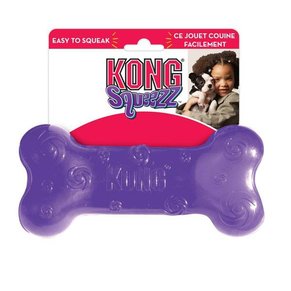 Squeezz Bone Dog Toy