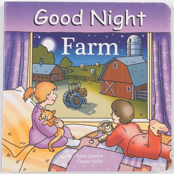 Good Night Farm Book
