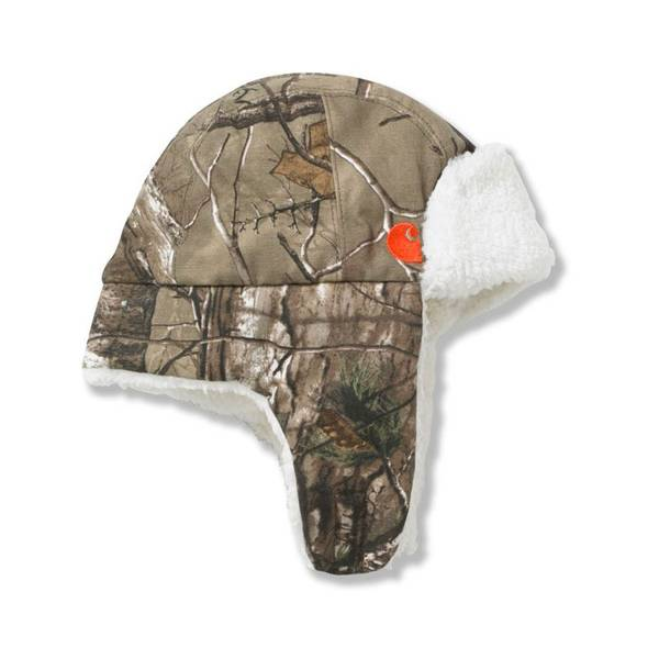 Toddler Boy's Realtree Sherpa Lined Bubba Hat