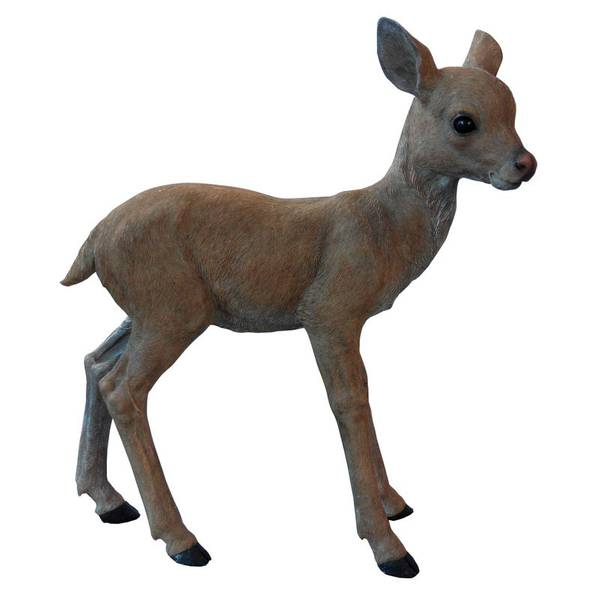 Decorative Baby Fawn Statue